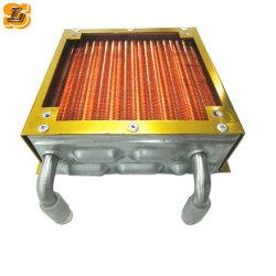 O tubo de cobre alumínio condensador e evaporador