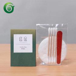 Hotel 100% algodão Kit de cortesia no pacote da Caixa de papel