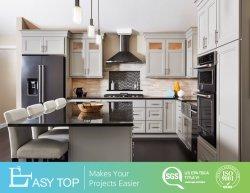 Plaza de la Panel Blanca planteó sueño personalizado Armario de almacenamiento de muebles de cocina con isla Designs