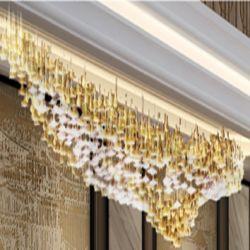 مصباح معلق من الكريستال LED لسقف الغرف بأسعار تنافسية