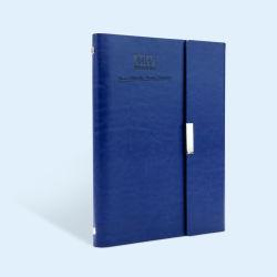 PU Housse en cuir pour ordinateur portable de journal hebdomadaire d'impression personnalisé