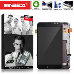 Amoled Sinbeda pour Samsung Galaxy Note N7000 Withframe Affichage LCD à écran tactile pour Samsung I9220 Note Note 1 LCD LCD N7000@