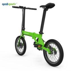 Melhor a dobragem de bicicletas eléctricas leve em liga de alumínio