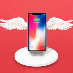 Hot la vente d'ouvrir automatiquement le support de recharge sans fil Angel Wings