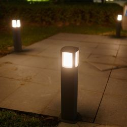 AC100-265V E27 Garden Bollard Super Bright Light Lampe