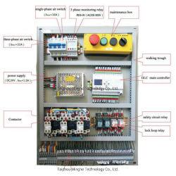 Montacargas armario con interruptor de botón de llamada Hall y los cables de 3 plantas de elevación de carga
