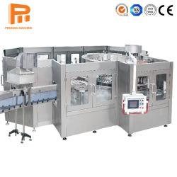 2000-20000bph آلة تعبئة المشروبات الغازية الآلية من زجاجات الروتاري
