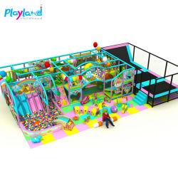 工場供給屋内演劇販売のための子供の屋内 Playground のおもちゃ キッズシーボールプールもある