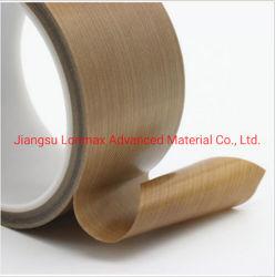 Haute résistance avec ruban adhésif de produits en fibre de verre recouvert de PTFE