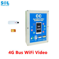 WiFi bus de sistema de VOD Wireless Router 4g con antena externa