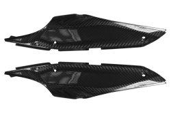 Les panneaux latéraux en fibre de carbone pour Ducati Hypermotard (SP) 2013-2016