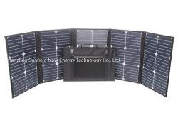 100W 18V 12V bewegliche faltbare Sonnenkollektor-Aufladeeinheit für Powerbank Laptop-Mobiltelefone