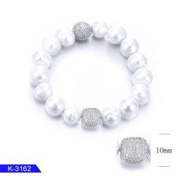 Commerce de gros style populaire d'argent et le charme de bijoux en laiton