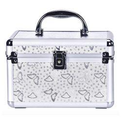 構成のケースの携帯用旅行装飾的な袋のオルガナイザーの構成のブラシはケースの構成のトレインケースを運ぶ
