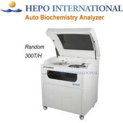 Entièrement automatisé de colorimétrie photoélectrique diagnostic clinique de la Biochimie Analyzer (HP-CHEM300)