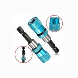 De magnetische Drywall Houder van de Bit van de Schroef de Schroef van de Boor van de Steel van de Hexuitdraai van 1/4 Duim