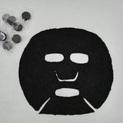 Masque facial compressé avec le charbon de bois de bambou