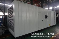 Дизельные двигатели Perkins Silent 1500 квт 400/230V генератор с Стамфорд/марафон генератор переменного тока