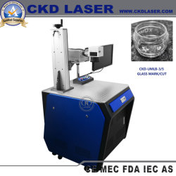 UV Nail Art numérique de l'imprimante laser pour le plastique PVC Logo verre Numéro de série
