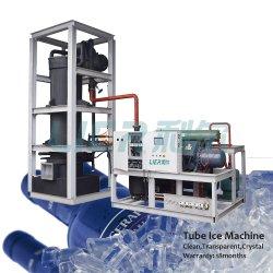 Fabricante líder de alta qualidade o Controle Automático do Tubo máquina de gelo 1 ton a 20toneladas