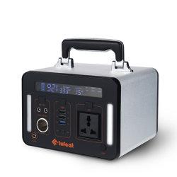 휴대용 힘 태양 발전기 500wh (리튬 건전지 135200mAh), Multi-Output (AC110V/220V, USB5~12V, DC12V, TypeC), 붙박이 BMS & 변환장치 관제사