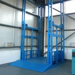 1T 2t 3t 4t Hydraulisches Vertikales Lager Cargo Lift Industrial Frachtaufzug