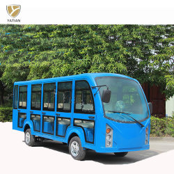 Горячая Продажа 14-сидений с электроприводом городской автобус с дверцами для продажи