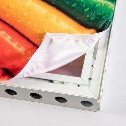 Salon attrayant et d'exposition châssis Weft-Knitted Tissu d'affichage