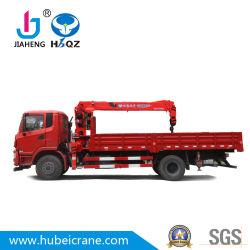HBQZ Mobiele Kraan van de Kraan van de Boom van de Kraan van 7 Ton de Vrachtwagen Opgezette Telescopische neemt het smeedijzer van de de tegelsnijder van de vrachtwagenRC kraan dat in de hydraulische pomp van China wordt gemaakt op