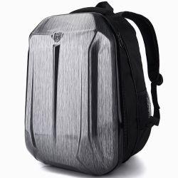 Hard Shell impermeable al aire libre Caballero Retro Laptop Motorcycle Bag mochila