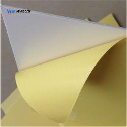 A4 A3 크기 화이트 골드 은 광택 있는 잉크 제트 인쇄할 수 있는 엄밀한 PVC PETG 애완 동물 IC ID 카드 만들기를 위한 플라스틱 폴리탄산염 장