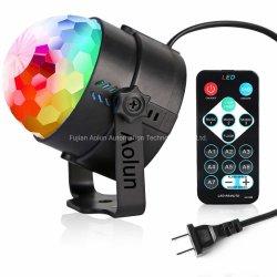 Étape de rotation Lights-Multi couleurs Magic Feux à éclats à LED pour Noël