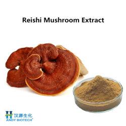 Le champignon Reishi Extract brun jaunâtre en poudre pour l'alimentation