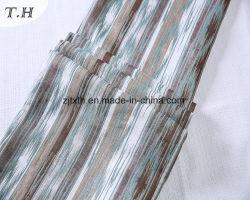 تم تصميم أريكة المقشة الطويلة المصنوعة من قماش الجاكار في عام 2016