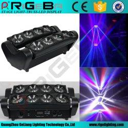 Авто Мотор светодиод 8*10 W Spider перемещение головки лампы сделаны в Китае