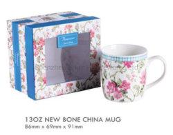 neuer 13oz Porzellan-Becher mit Geschenk-Kasten