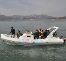 Yacht gonfiabile rigido della barca della nervatura dell'Europa Hypalon della barca di Liya 8.3m