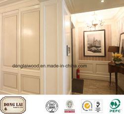 Material de construção de fábrica na China fornecer alta qualidade preço competitivo Design Personalizado Falso Cornija Parede moldura de madeira para mobiliário