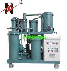 Le Zn vide élevé purificateur d'huile de lubrification de la machine pour utiliser l'huile hydraulique