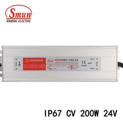 200W 24VDC 8.3A impermeável LED de tensão constante fonte de alimentação de comutação
