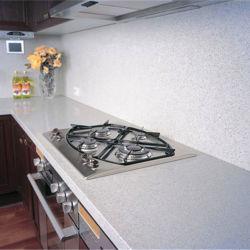 Наружное зеркало заднего вида Fleck белого цвета Ослепительно белый кварцевый камень кухонном столе с маркировкой CE NSF SGS сертификации