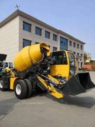 Fournisseur d'usine 3.5 Cbm Self-Loading Bétonnière chariot pour Mobile Zone utilisée combinée de la machine à distance