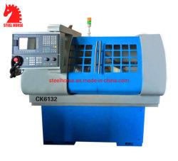 Ck6132 de l'enseignement de l'École Petit tour CNC automatique de métal