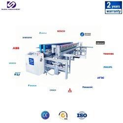 Automatic hoja de plástico (PP, PVC, HDPE, PPH) soldadora/lámina de plástico CNC máquina de fusión a tope/placa de plástico máquina de doblado Full-Automatic
