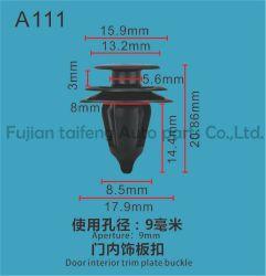 Clipes Automática personalizadas e prendedores de plástico a Hyundai e a China fixadores de Clipes Automática