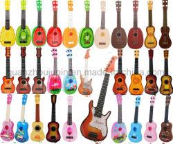 OEM de Mini Plastic Gitaar van het Instrument van het Stuk speelgoed van de Kinderen van Jonge geitjes Muzikale