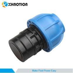 Пластмассовые трубопроводы для подсоединения фитинга торцевую заглушку адаптера для сжатого воздуха