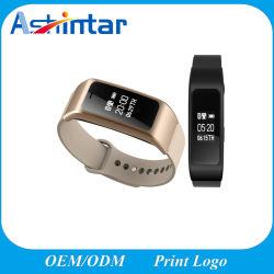 Slimme Armband van de Drijver van de Geschiktheid van de Pedometer van de Manchet van de Speler van de Vraag van Bluetooth Handsfree MP3