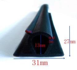 A borracha de silicone perfis extrudados de vedantes de borracha