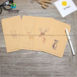 Bronw крафт-бумаги или свадьба или день рождения Место карты конверты